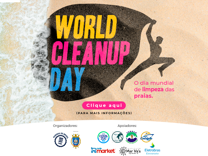 Participe do Clean Up Day 2021